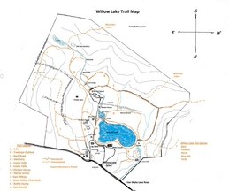 Willow Lake Farms Vacation Rentals Trail Map_Fishkill NY